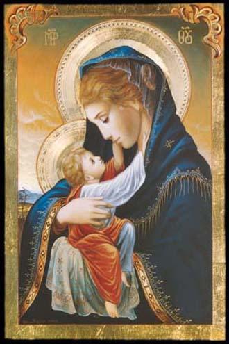 NEUVAINE À MARIE MÉDIATRICE DE TOUTES GRÂCES  Vierge10