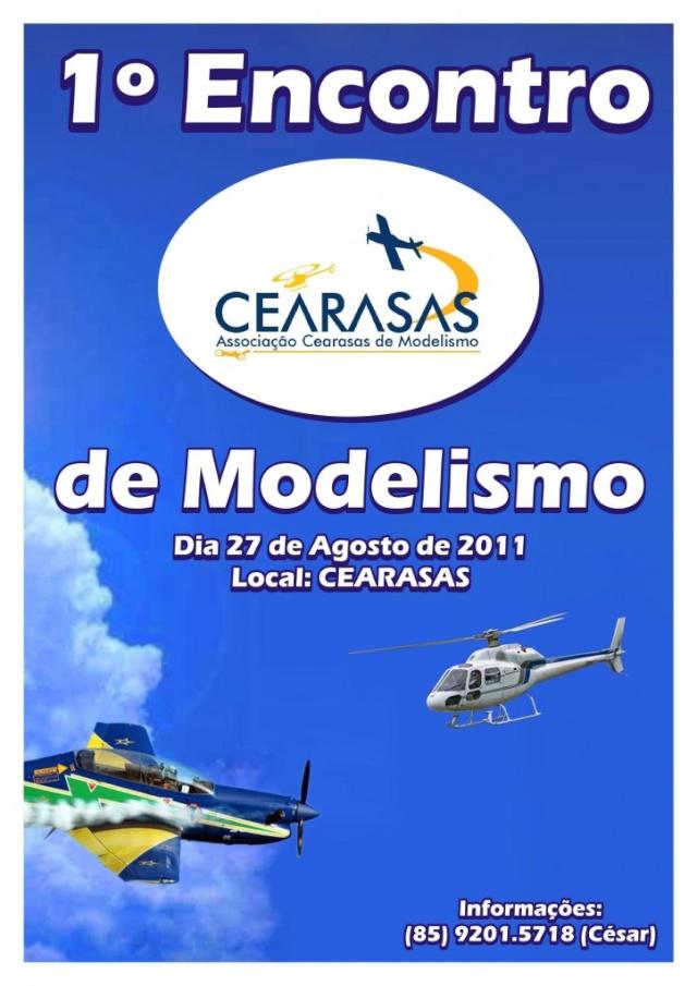 O CEARASAS convida para 1º Encontro CEARASAS de Modelismo.  Cearas10