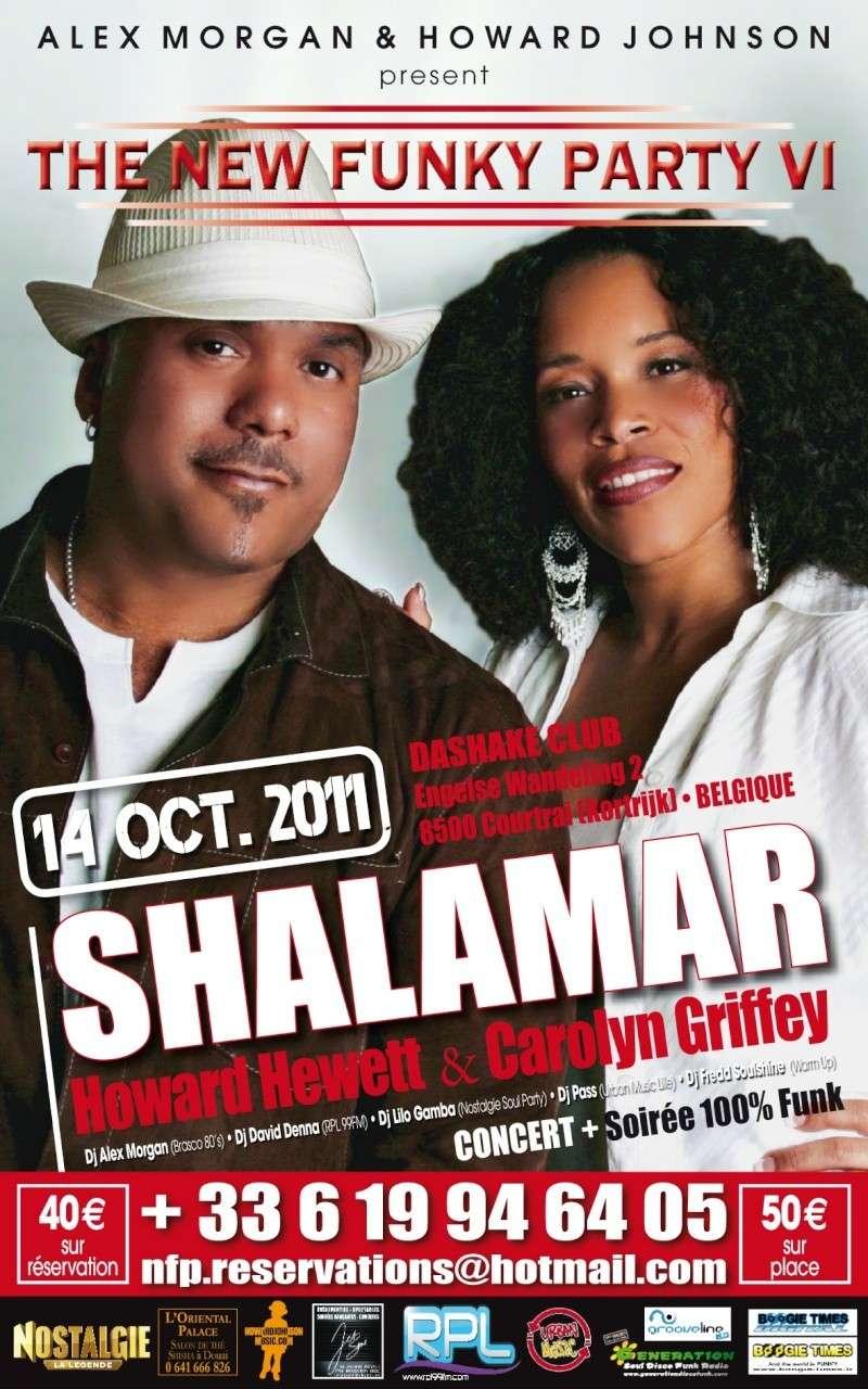 Concert Shalamar feat Howard Hewett et Carolyn Griffey le 14 Octobre 2011 au Dashake Untitl10