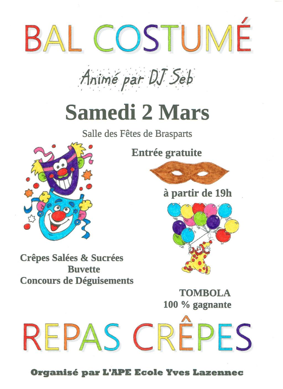 Bal Masqué et Repas Crêpes APE Ecole Yves Lazennec 2019_a10