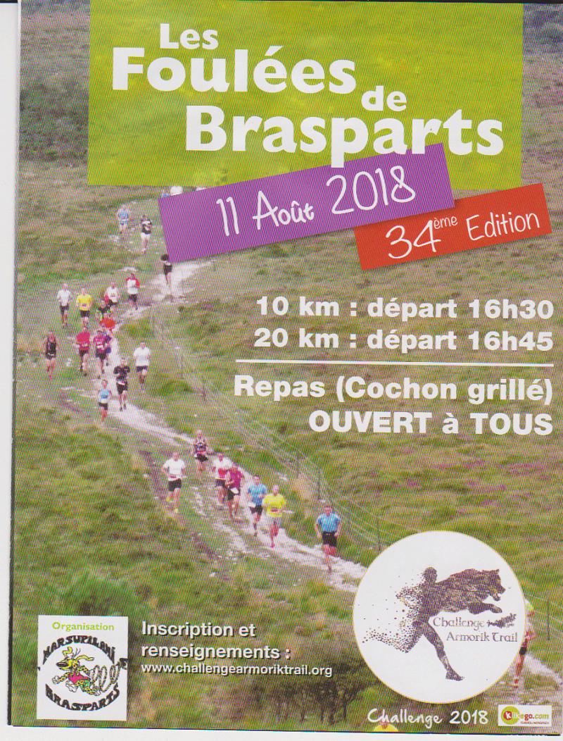 Foulées de Brasparts 2018 Affich10