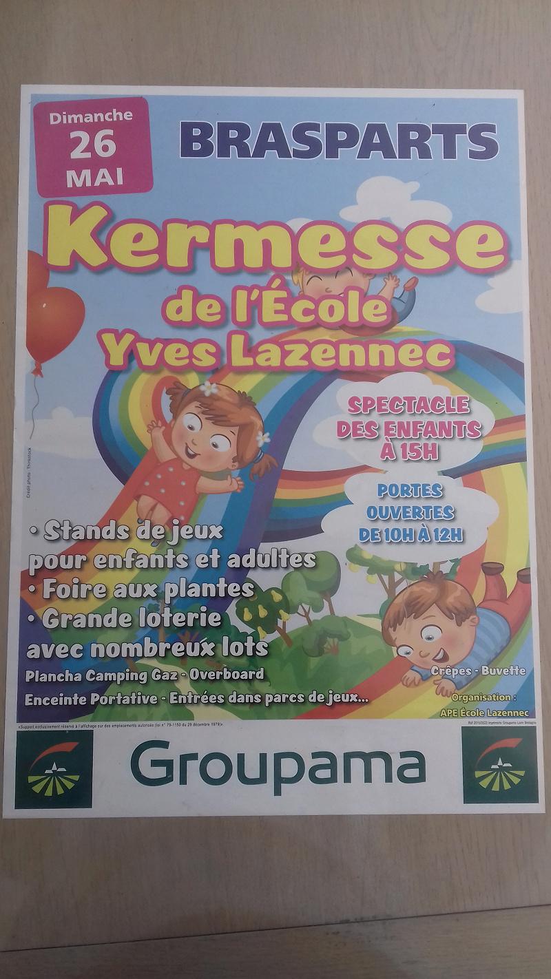 Kermesse de l'école Yves Lazennec Affich14