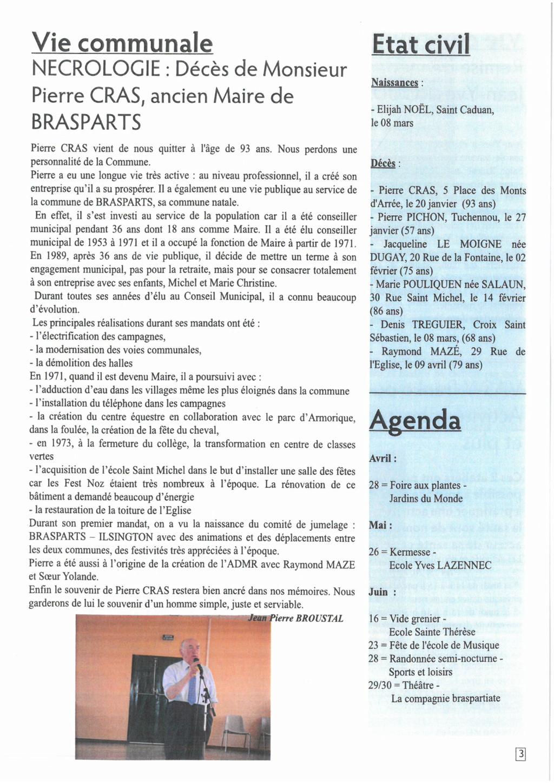 BRASPARTS BIB N°54 Bib_5412