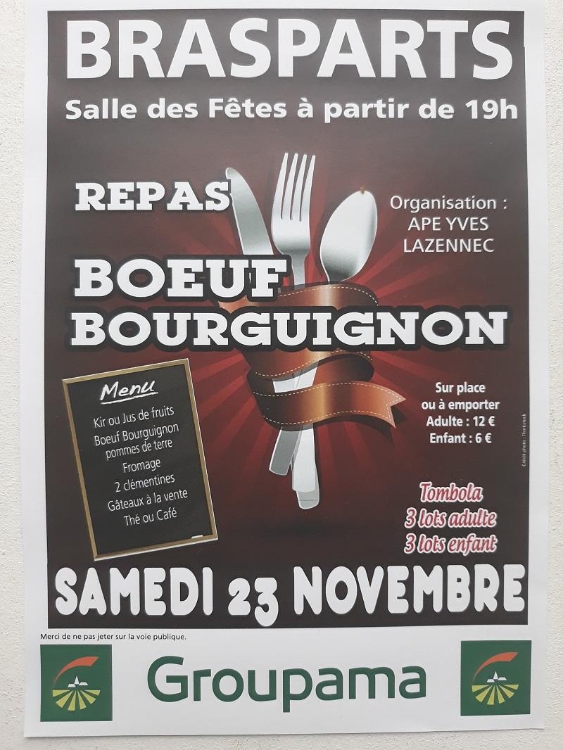 Boeuf Bourguignon de l'APE Y. Lazennec BRASPARTS Bourgu10