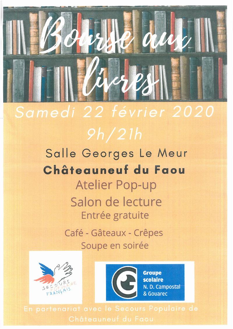 Bourse aux livres à Châteauneuf au profit du Secours Populaire Photo_10