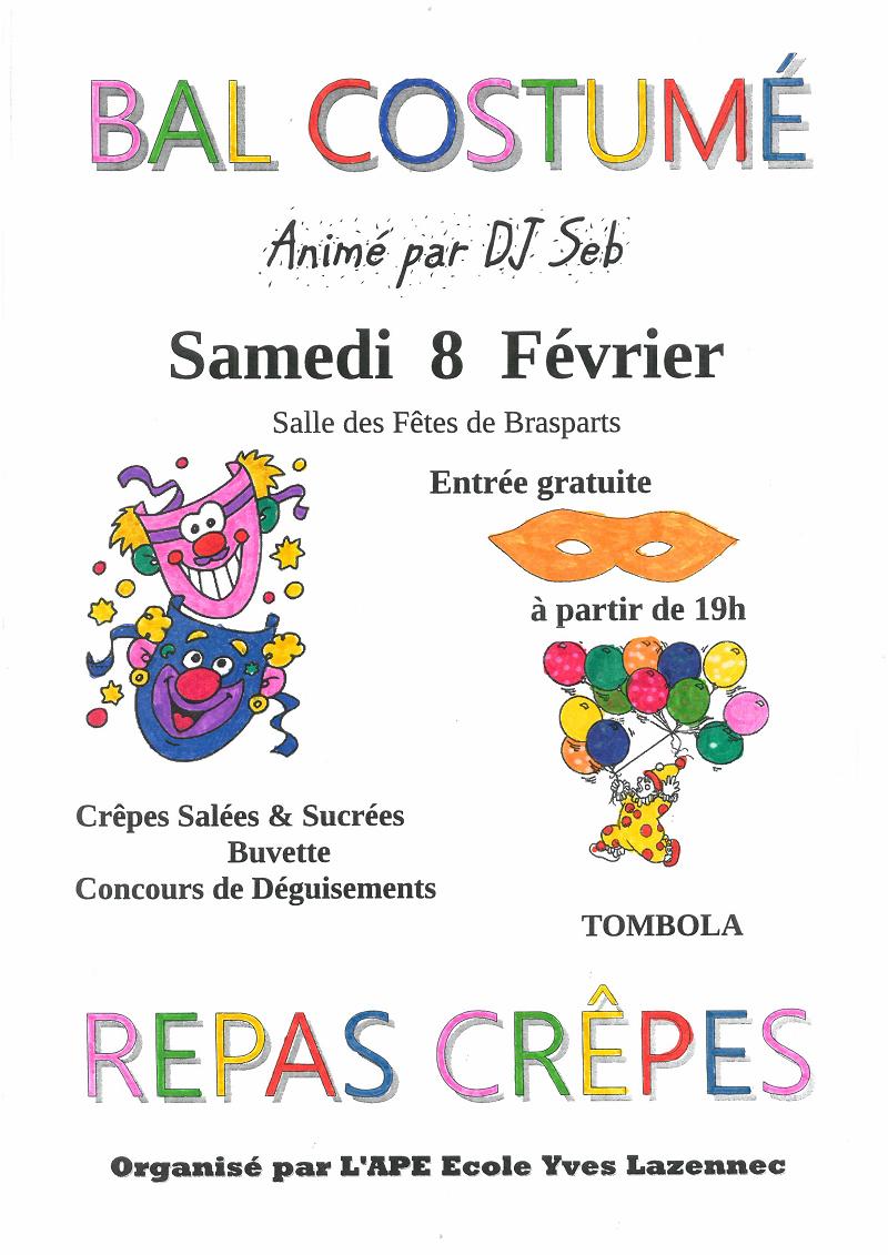 Brasparts Repas crêpes et bal costumé APE Ecole Y. Lazennec Photo_10