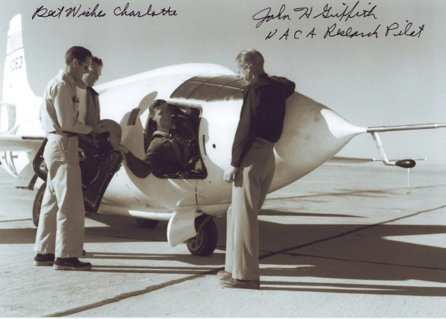 Disparition du pilote d'essais NACA John Griffith (1921 - 2011) Xs-1_p10