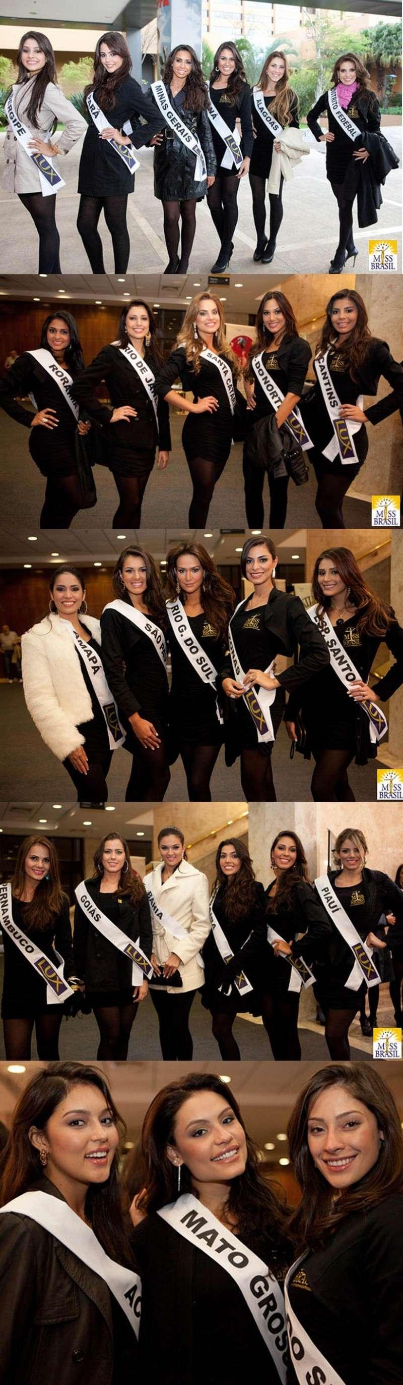 Road to Miss Brazil Univ 2011- Rio Grande do Sul won 1410