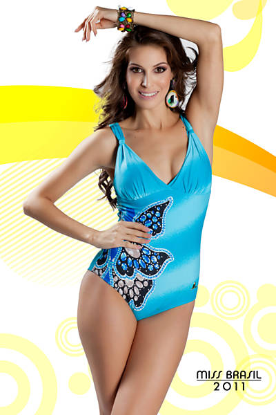 Road to Miss Brazil Univ 2011- Rio Grande do Sul won Df10