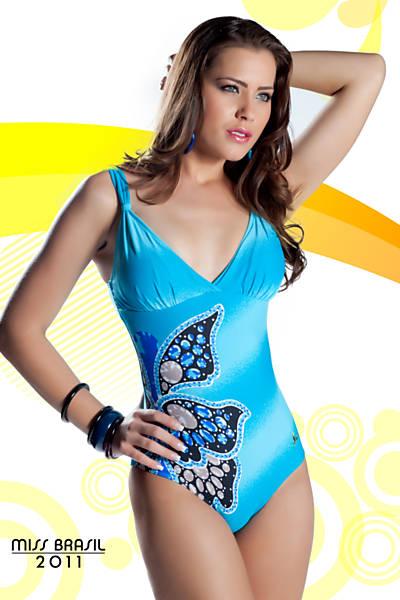 Road to Miss Brazil Univ 2011- Rio Grande do Sul won Goias10