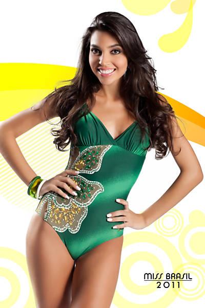 Road to Miss Brazil Univ 2011- Rio Grande do Sul won Par10