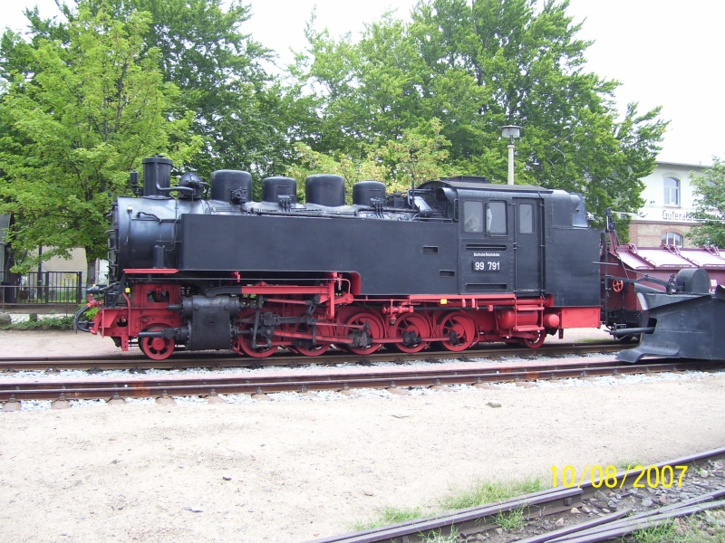 sächsische Schmalspurbahn - 750mm-Schmalspurlokomotiven  100_1242