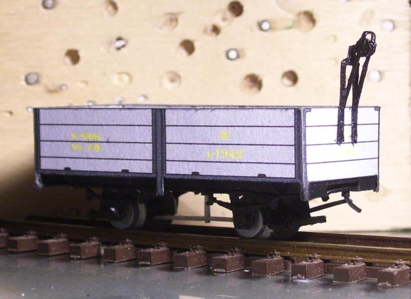 Auf zu neuen Ufern... offener Güterwagen, Gattung 777 der K. Sächs. Sts. E.B. 113_9831