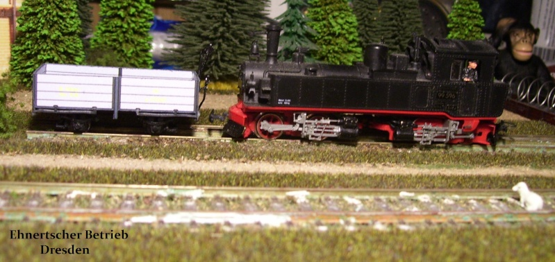 Auf zu neuen Ufern... offener Güterwagen, Gattung 777 der K. Sächs. Sts. E.B. 113_9836