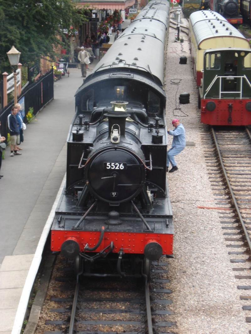 Dampfreise durch England Englan11