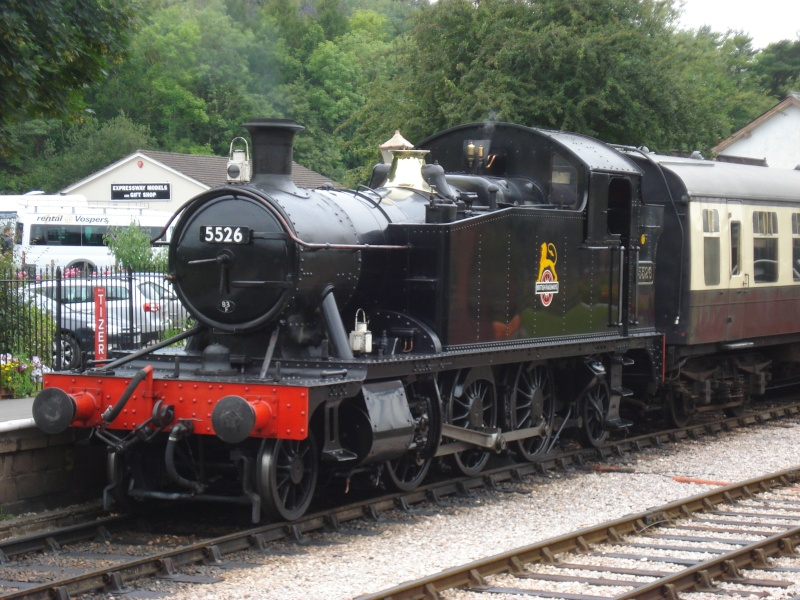 Dampfreise durch England Englan12