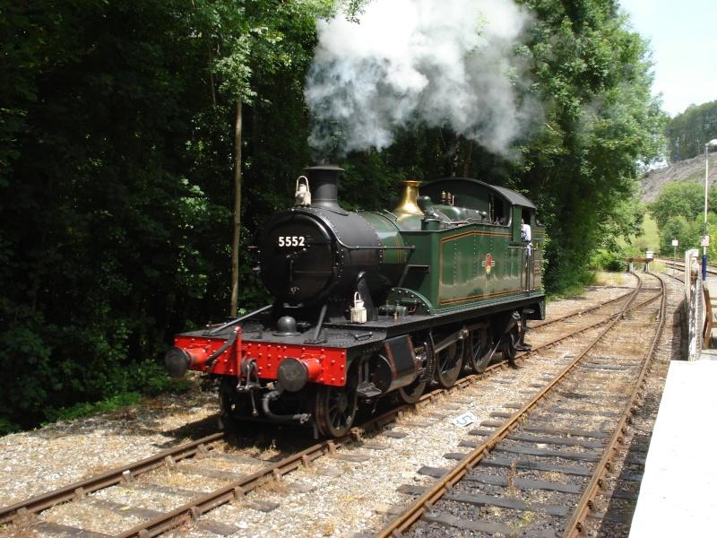 Dampfreise durch England Englan24