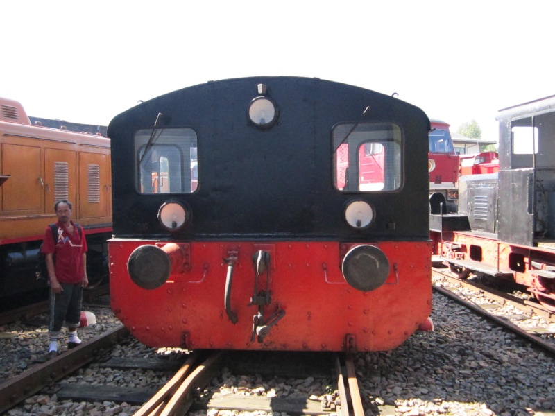 Kleindiesellok Köf II - DB-Baureihe 322-324 - DR BR 100 / 310 Img_0490
