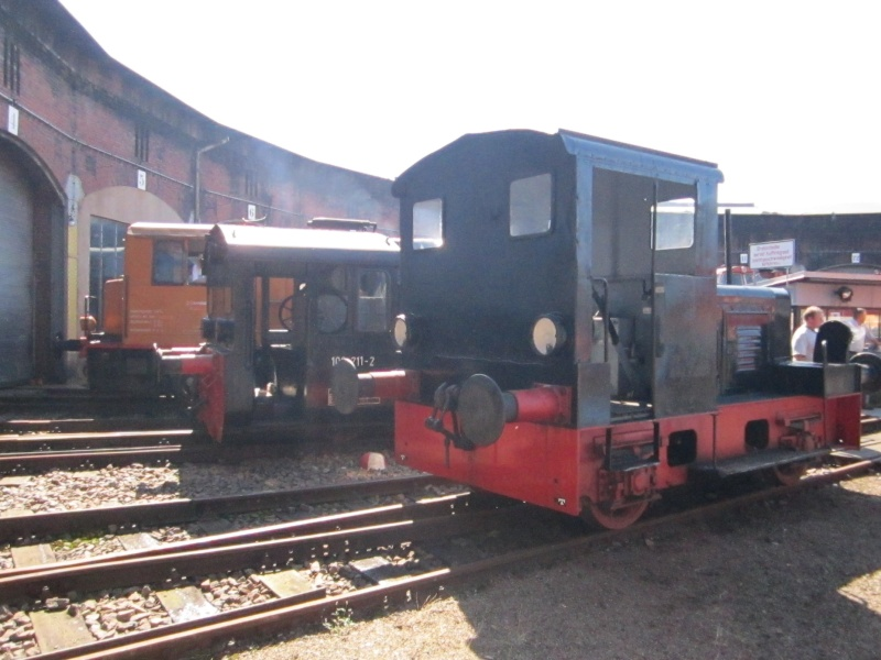 Kleindiesellok Köf II - DB-Baureihe 322-324 - DR BR 100 / 310 Img_0493
