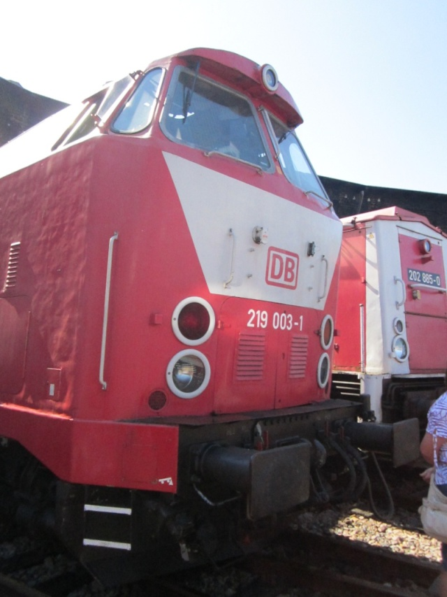 """Das U-Boot"" - BR 119 (DR) - BR 219 (DB) Img_0678"