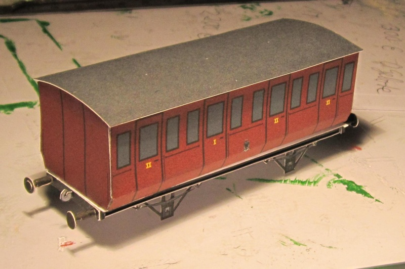 Personenwagen der Weimar-Geraer Eisenbahn, etwa 1890, M1/87 Img_2145