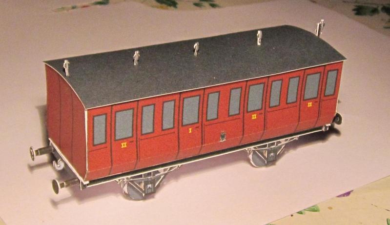 Personenwagen der Weimar-Geraer Eisenbahn, etwa 1890, M1/87 Img_2327