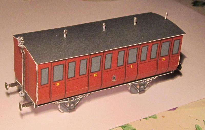 Personenwagen der Weimar-Geraer Eisenbahn, etwa 1890, M1/87 Img_2328