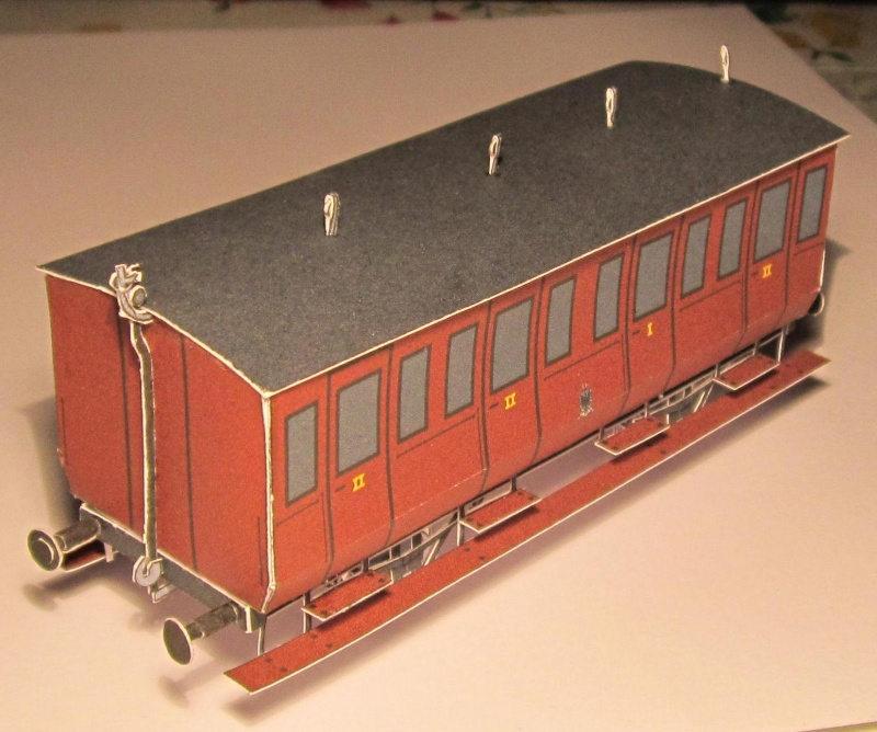 Personenwagen der Weimar-Geraer Eisenbahn, etwa 1890, M1/87 Img_2335