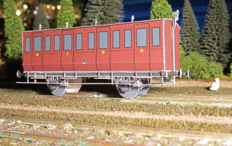 Personenwagen der Weimar-Geraer Eisenbahn, etwa 1890, M1/87 Img_2337