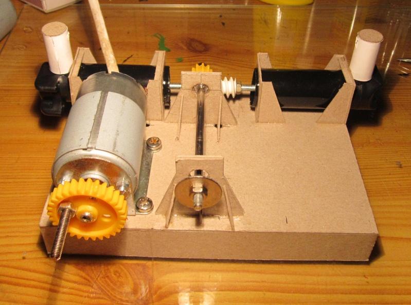 Nu was wird das denn... Papp-Kompressor , der Erste Img_3611