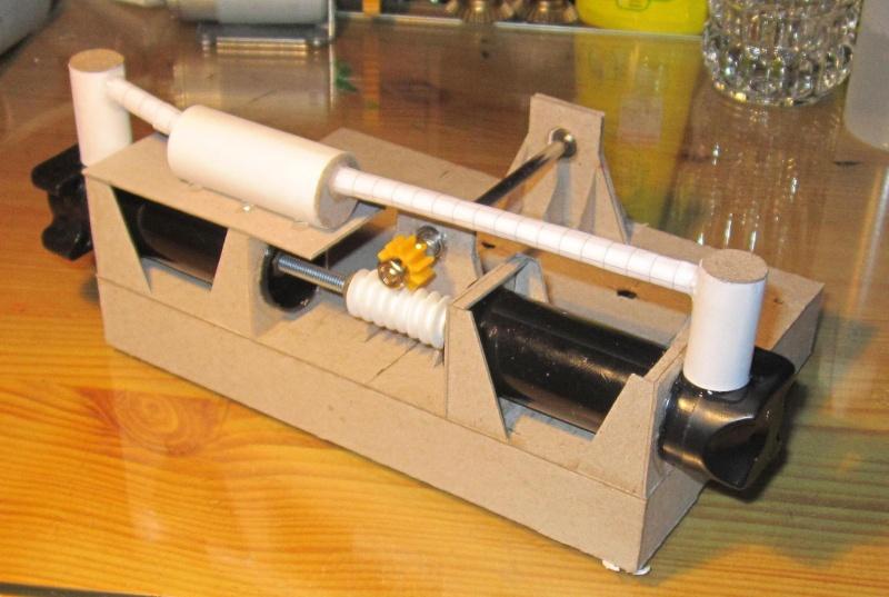 Nu was wird das denn... Papp-Kompressor , der Erste Img_3612