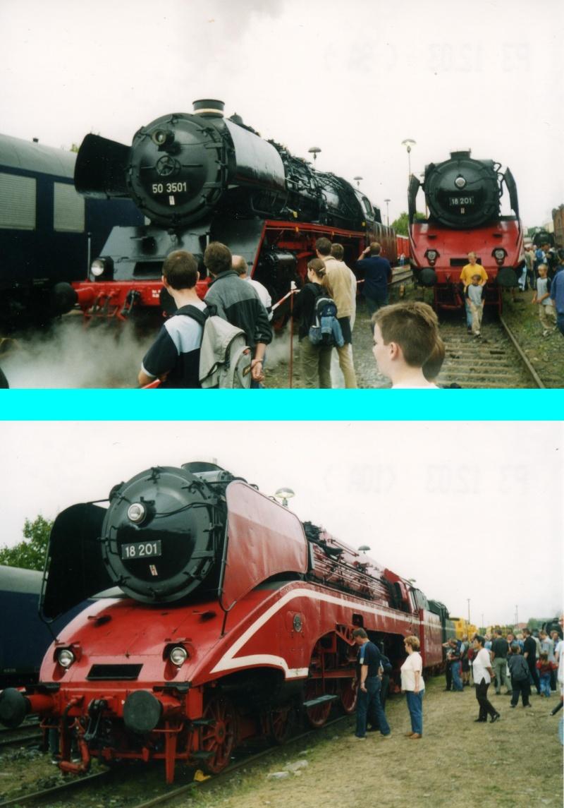 Dampftage Meiningen 2003 - mit roter 18 201 Mei-2011