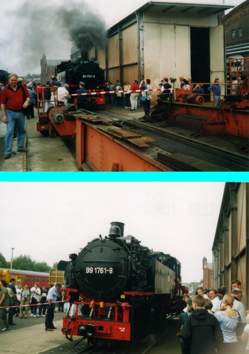 Dampftage Meiningen 2003 - mit roter 18 201 Mei-2012