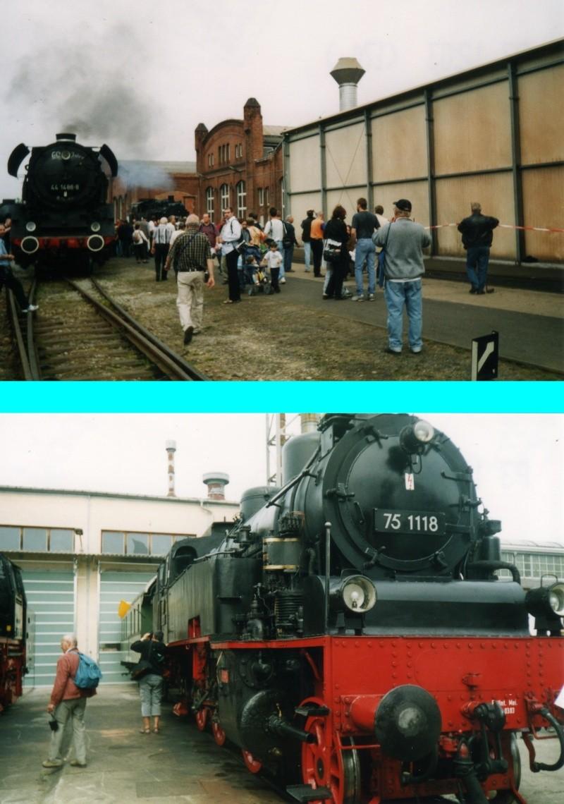 Dampftage Meiningen 2003 - mit roter 18 201 Mei-2013
