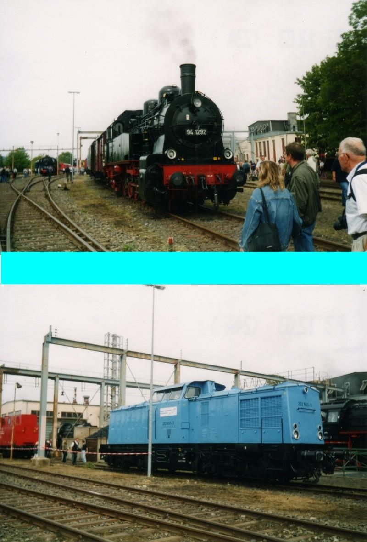 Dampftage Meiningen 2003 - mit roter 18 201 Mei-2015