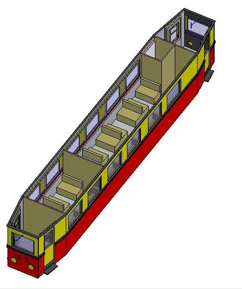 Konstruktion und Bau des VT 137 322 in HOe Vt137-12