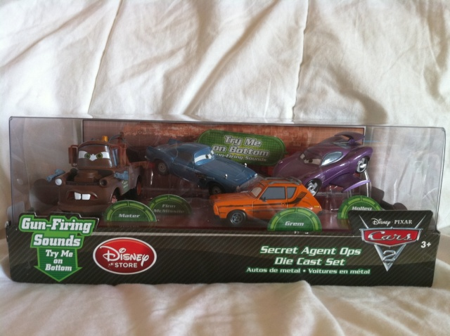 [DS] Petite collection Cars 2 Disney Store 1011