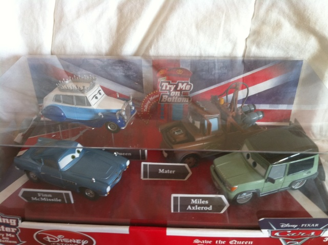 [DS] Petite collection Cars 2 Disney Store 1111