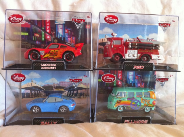 [DS] Petite collection Cars 2 Disney Store 113