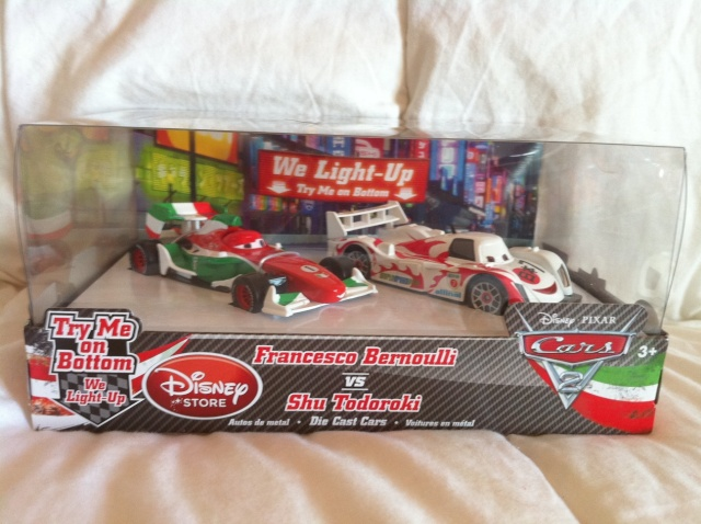 [DS] Petite collection Cars 2 Disney Store 1210