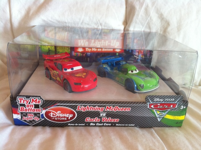 [DS] Petite collection Cars 2 Disney Store 1310