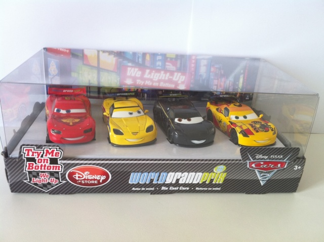 [DS] Petite collection Cars 2 Disney Store 1410