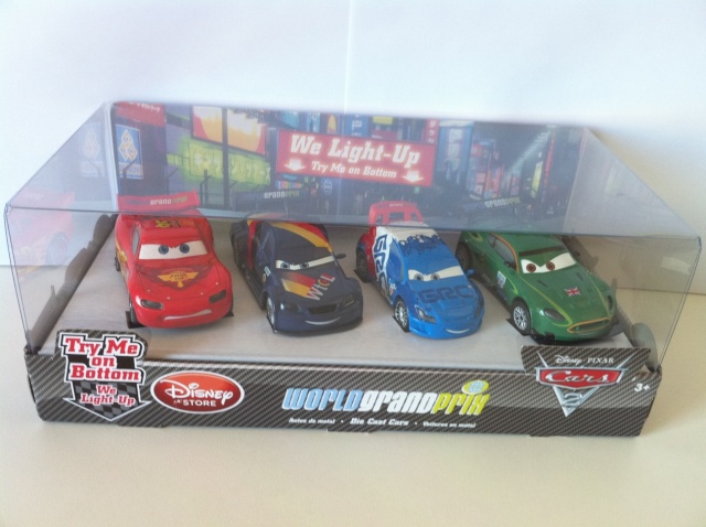 [DS] Petite collection Cars 2 Disney Store 1510