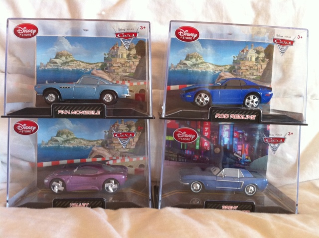 [DS] Petite collection Cars 2 Disney Store 314