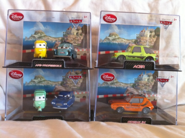 [DS] Petite collection Cars 2 Disney Store 414
