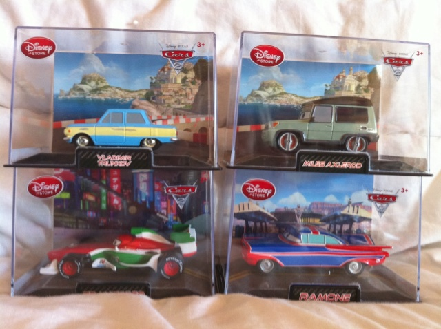 [DS] Petite collection Cars 2 Disney Store 513