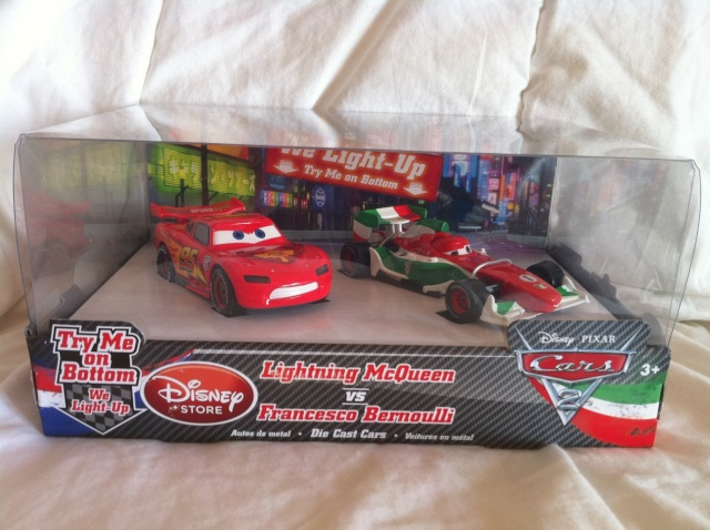 [DS] Petite collection Cars 2 Disney Store 712