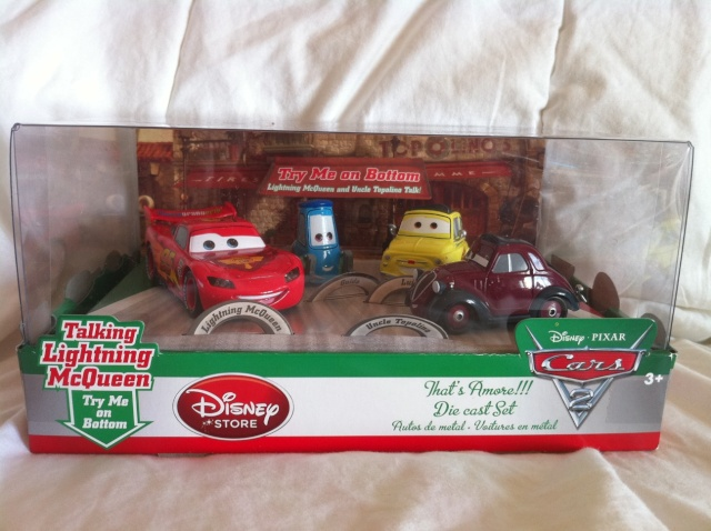 [DS] Petite collection Cars 2 Disney Store 812