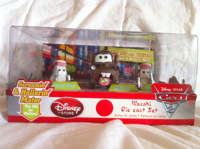 [DS] Petite collection Cars 2 Disney Store 911