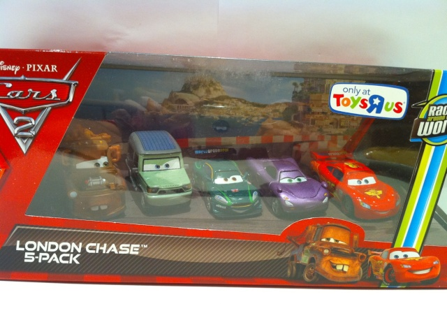 [Cars 2] Pack London Chase - Martin with bomb London12